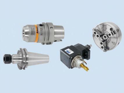 各種CNC刀桿與標準夾治具系統