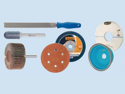 研磨與切割工具 - 砂輪片、銼刀、鋼鋸、鋼刷