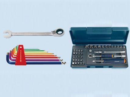 手工具 - 板手、起子、套筒組、扭力板手