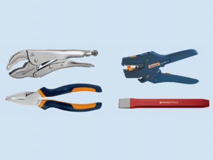 手工具 - 榔頭、夾鉗類、鑿刀
